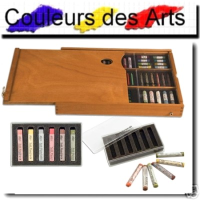 Boite pour pastels